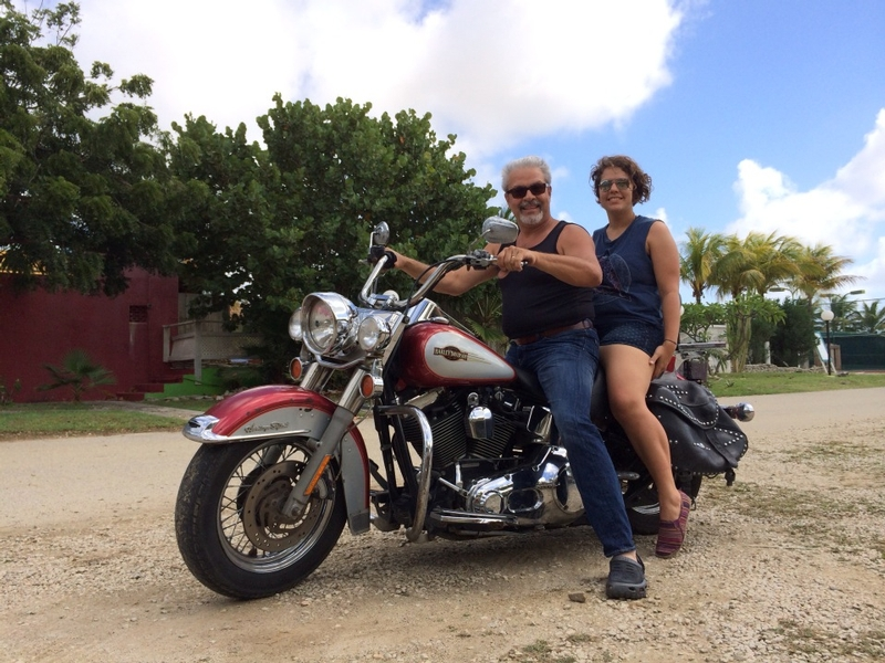 A father-daughter bike ride